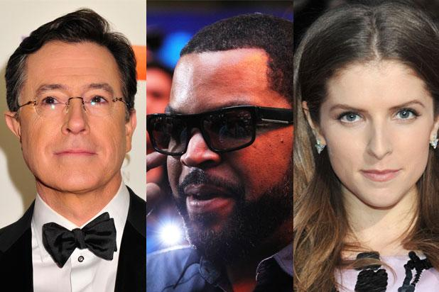 Stephen Colbert, Ice Cube, Anna Kendrick to Present at 2016 Grammys