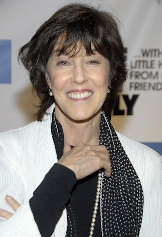 FILE - In this Dec. 2, 2008 file photo, director Nora Ephron poses on the press line at &quot;One Night Only...With a Little Help From Our Friends&quot; benefiting UCLA School of Theater, Film and Television at Royce Hall in Los Angeles. Publisher Alfred A. Knopf confirmed Tuesday, June 26, 2012, that author and filmmaker Nora Ephron died Tuesday of leukemia. (AP Photo/Dan Steinberg, file)