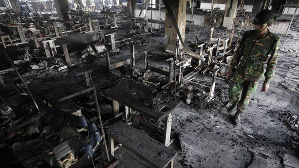 Bangladesh Factory Fire Now Labeled a Case of Mysterious 'Sabotage'