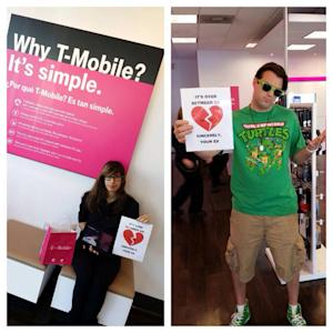 T-Mobile: 80,000 people have posted breakup letters [updated]