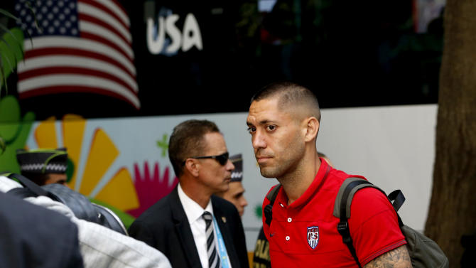 US arrives in congested Sao Paulo for World Cup