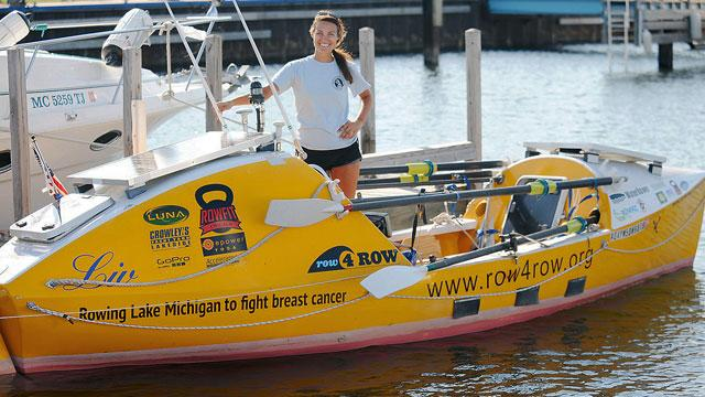 Woman Rowing Perimeter of Lake Michigan Sexually Assaulted