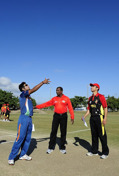 ICC U19 Cricket World Cup 2012 - India v PNG