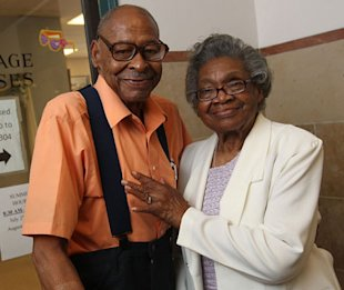 Roland Davis and Lena Henderson (Sharon Cantillon/Buffalo News)