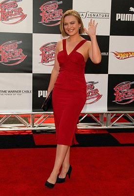 Sophia Myles at the Los Angeles premiere of Warner Bros. Pictures' Speed Racer