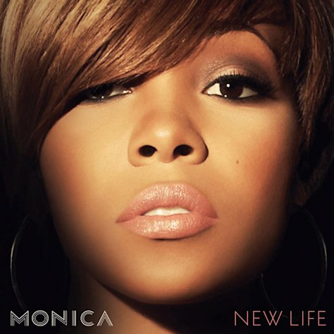 In this CD cover image released by RCA Music Group, the latest release by Monica, &quot;New Life,&quot; is shown. (AP Photo/RCA Music Group)