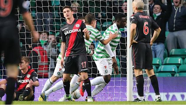 Football - Celtic secure Saints success