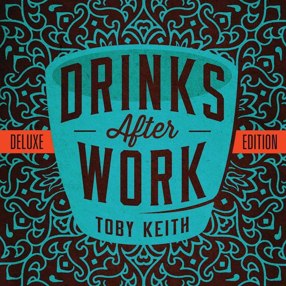 "This CD cover image released by Show Dog Universal Music shows ""Drinks After Work,"" the latest release by Toby Keith. (AP Photo/Show Dog Universal Music)"