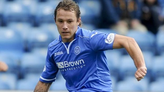 Stevie May has scored four goals in nine games so far this season