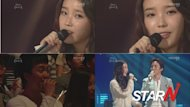 IU makes a public propose while singing