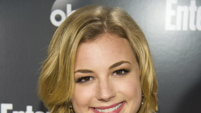 """FILE - This May 15, 2012 file photo shows actress Emily VanCamp attending the Entertainment Weekly and ABC Upfronts Party in New York. A year ago, Emily VanCamp worried no one would watch her TV show """"Revenge"""" on ABC. Now, a year later, it's about to debut its second season and is one of the hottest shows on television. (AP Photo/Charles Sykes, file)"""