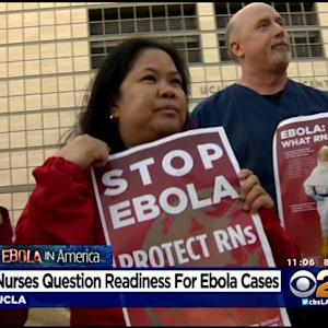 Nurses Union: UC Hospitals Not Ready For Ebola