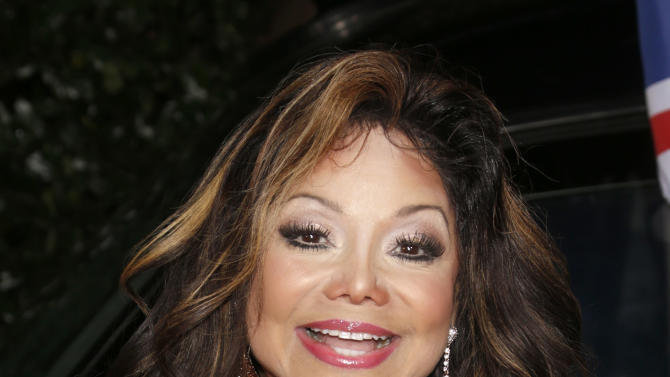La Toya Jackson attends the Topshop Topman LA Opening Party At Cecconi's in Los Angeles, on Wednesday, Feb. 13, 2013 in Los Angeles. (Photo by Todd Williamson/Invision for/AP)