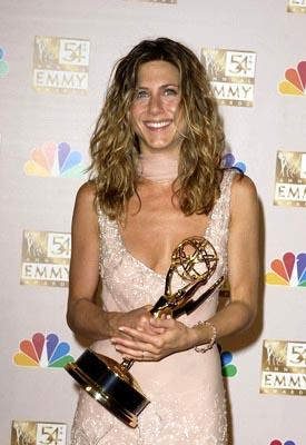 Jennifer Aniston Best Actress - Comedy Friends Emmy Awards - 9/22/2002
