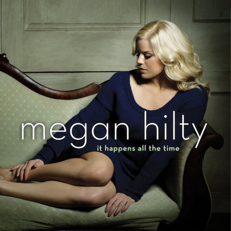 This publicity photo provided by Sony Masterworks shows the cover for Megan Hilty&#39;s debut album, &quot;It Happens All the Time.&quot; The album released on March 12, 2013. (AP Photo/Sony Masterworks)