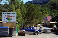 <p>The entrance to a campsite in Saint-Didier-sous-Aubenas. A suspected serial rapist is preying on young girls holidaying on campsites in the Ardeche region of central France, local police said Friday.</p>