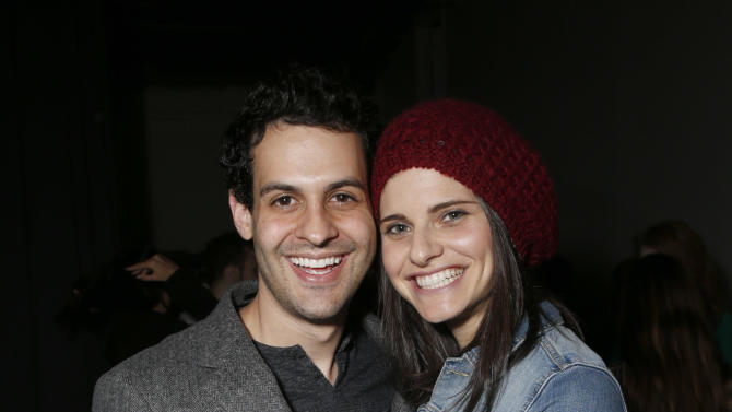 Andrew Leeds and Lindsey Kraft attend the 3rd Annual Witness Uganda Concert Presented by Siren Studios to Benefit UgandaProject on Thursday December 6, 2012 in Los Angeles, California. (Photo by Todd Williamson/Invision for UgandaProject/ AP Images)