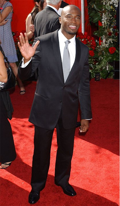 Taye Diggs at The 56th Annual Primetime Emmy Awards. 