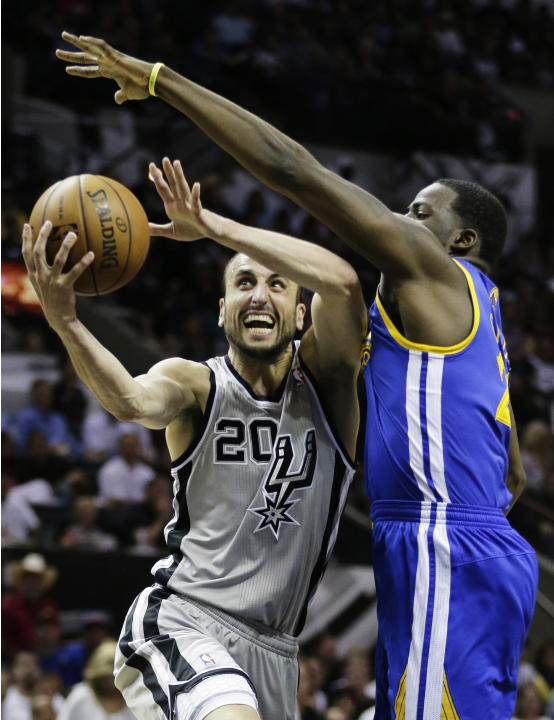 Spurs Ginobili Basketball