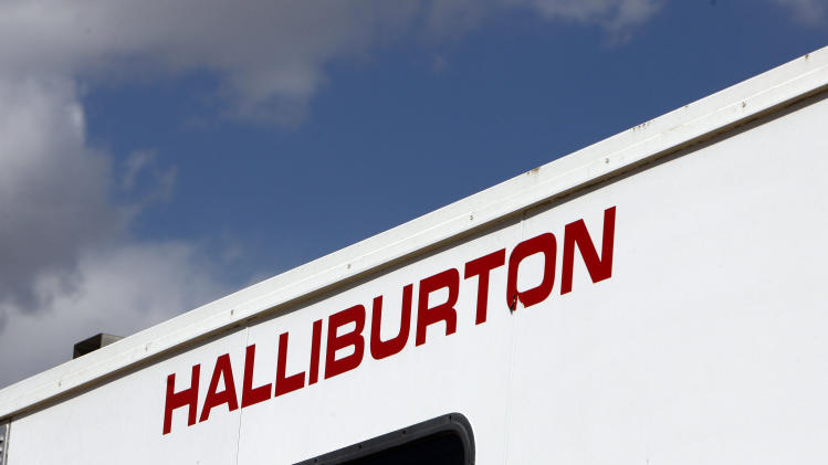 Halliburton 4Q results helped by int'l strength