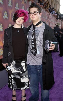 Kelly Osbourne and Jack Osbourne MTV Movie Awards 6/1/2002