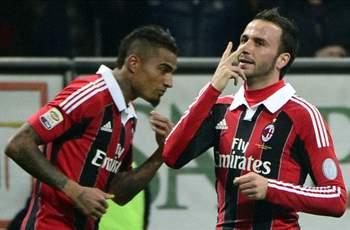 AC Milan 3-0 Lazio: Pazzini double raises Rossoneri into Champions League positions