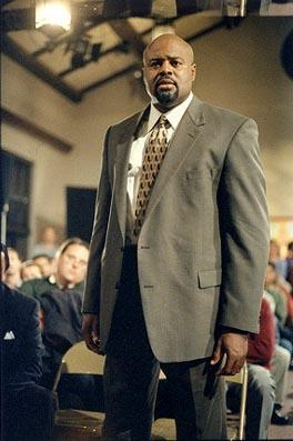 Chi McBride as Principal Steven Harper on the series premiere of Fox's Boston Public Boston Public