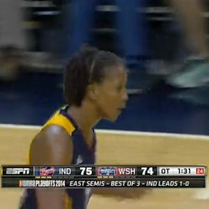 Tamika Catchings Sets All-Time WNBA Playoff Scoring Record