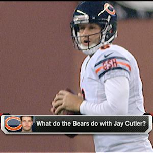 What do Chicago Bears do with QB Jay Cutler?