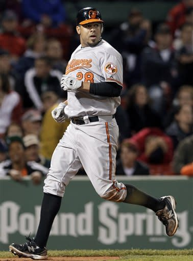 Orioles beat Red Sox 8-6 in 10 innings