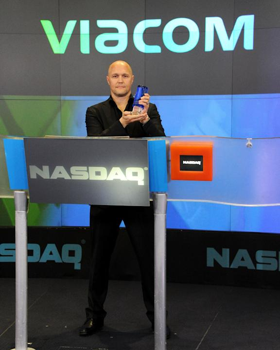 "Viacom With Spike TV's ""Bellator"" Ring The NASDAQ Closing Bell"