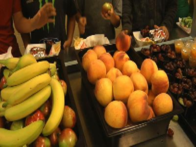 School lunches now leaner, greener