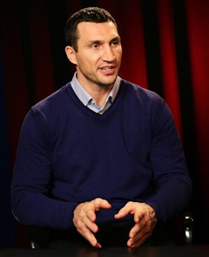 Boxer Klitschko draws attention to Ukraine crisis