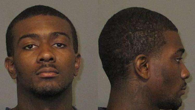 This undated photo provided by the Auburn Police Division shows Desmonte Leonard, 22, of Montgomery, Ala., the suspect wanted for fatally shooting three people, including two former Auburn University football players, and wounding three others during a party at an apartment complex near the school, Sunday, June 10, 2012, in Auburn, Ala. Auburn Police Chief Tommy Dawson said that current football player Eric Mack was among those wounded and was being treated at a hospital. The two slain former players were identified as Edward Christian and Ladarious Phillips. The other person killed was identified as Demario Pitts. (AP Photo/Auburn Police Division)