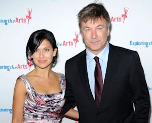 Hilaria Thomas and Alec Baldwin attend Tony Bennett's 85th Birthday Gala Benefit for Exploring the Arts at The Metropolitan Opera House in New York City -- Getty Images