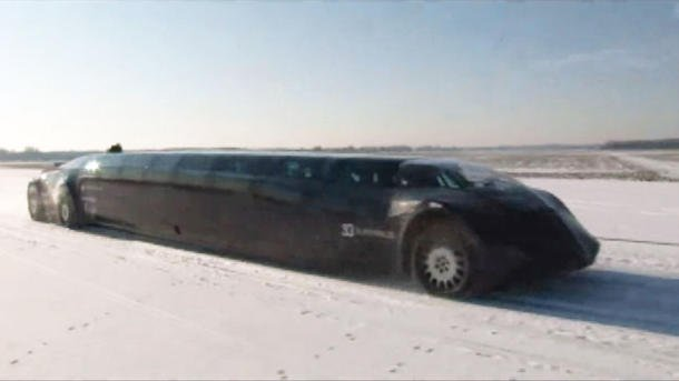 Superbus Dutch snow video