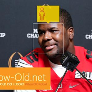#HowOldRobot: How Old Does Cardale Jones Look?