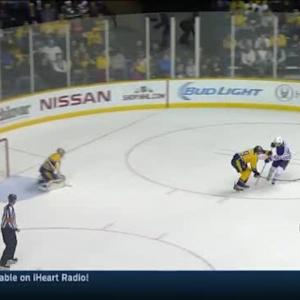 Pekka Rinne Save on Ryan Nugent-Hopkins (17:09/3rd)