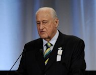 Former world football chief Joao Havelange, pictured in 2009, received enormous bribes from FIFA's discredited former marketing company, court documents released in Switzerland reveal