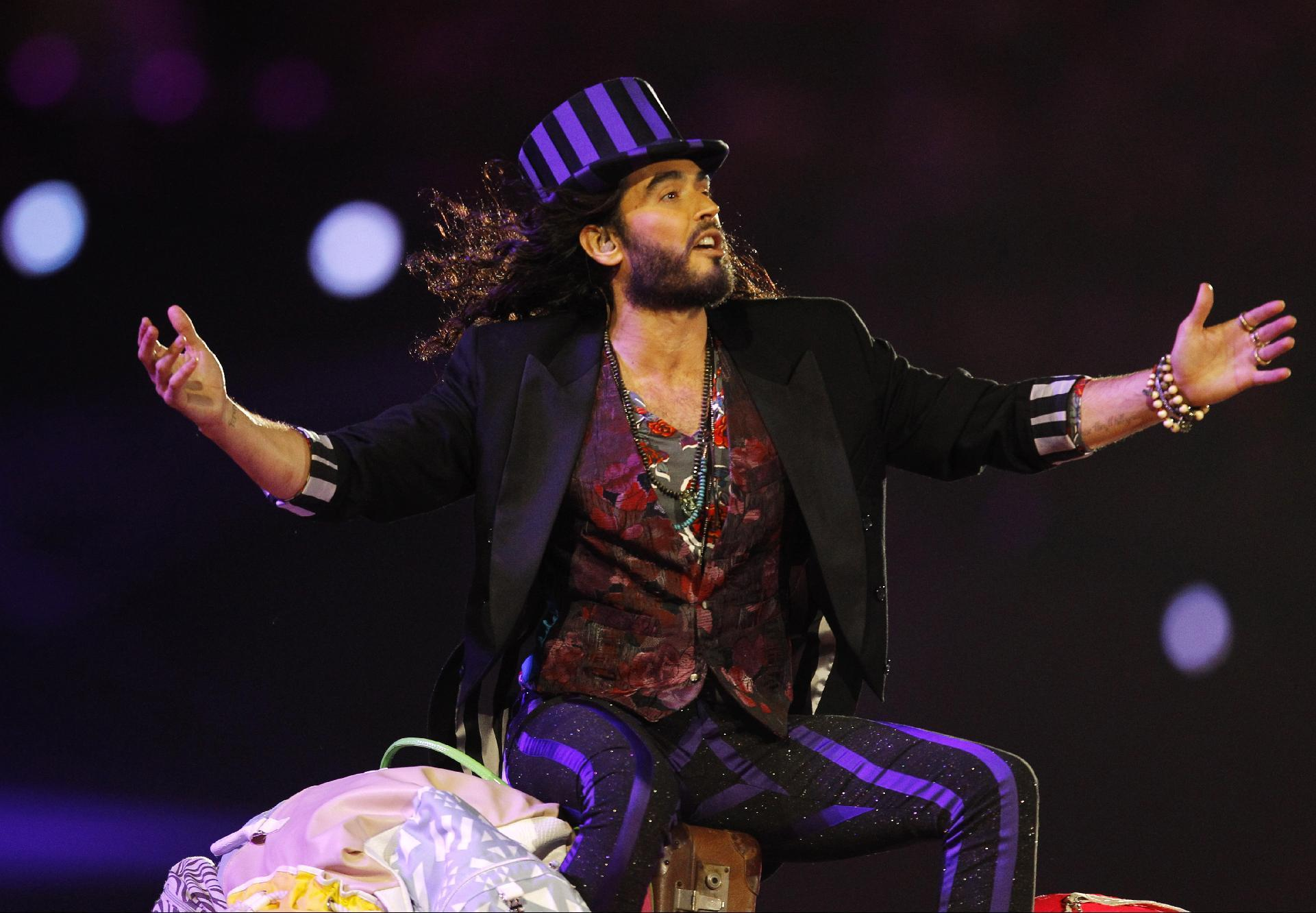 British comedian, activist Russell Brand backs Labour Party