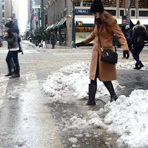 Here's Why Those Slushy Sidewalk Puddles Are Crazy Deep