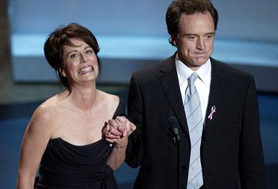 Jane Kaczmarek and Bradley Whitford 53rd Annual Emmy Awards - 11/4/2001