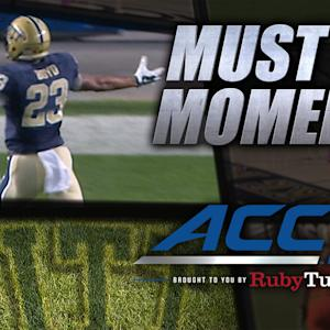 Pitt's Tyler Boyd Breaks Off 53-Yard TD | ACC Must See Moment