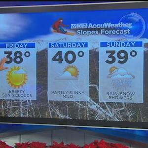WBZ AccuWeather Afternoon Forecast For Dec. 25