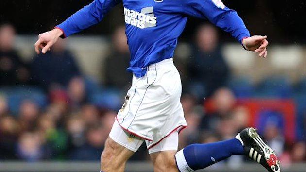Danny Higginbotham has made 12 appearances on loan at Ipswich