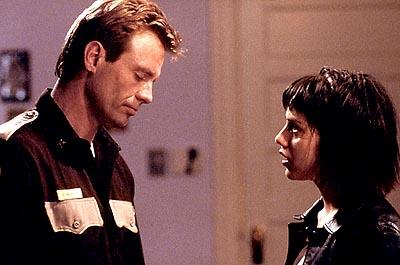 Michael Biehn and Brittany Murphy in USA Films' Cherry Falls