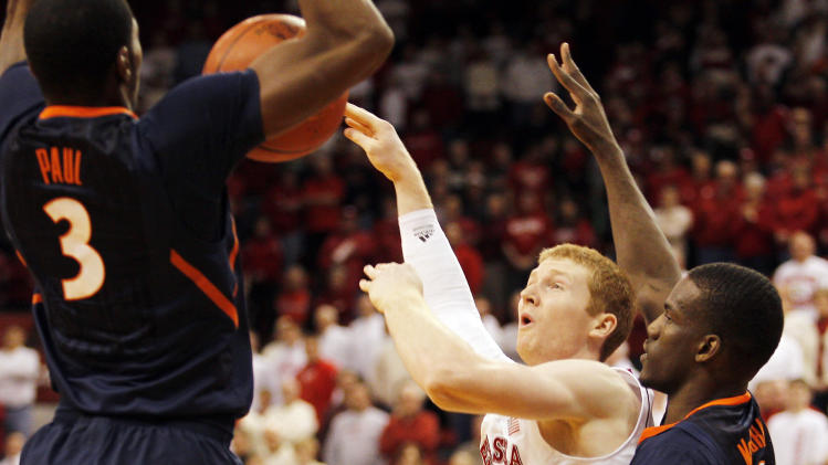 NCAA Basketball: Illinois at Nebraska
