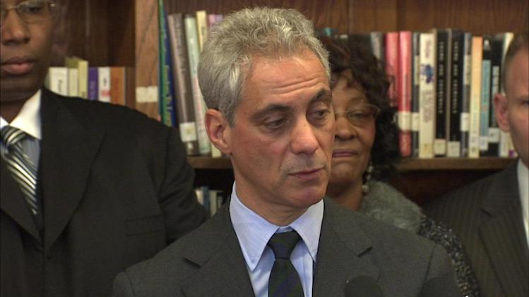 Mayor Emanuel: 'Time is now' for gay marriage in Illinois