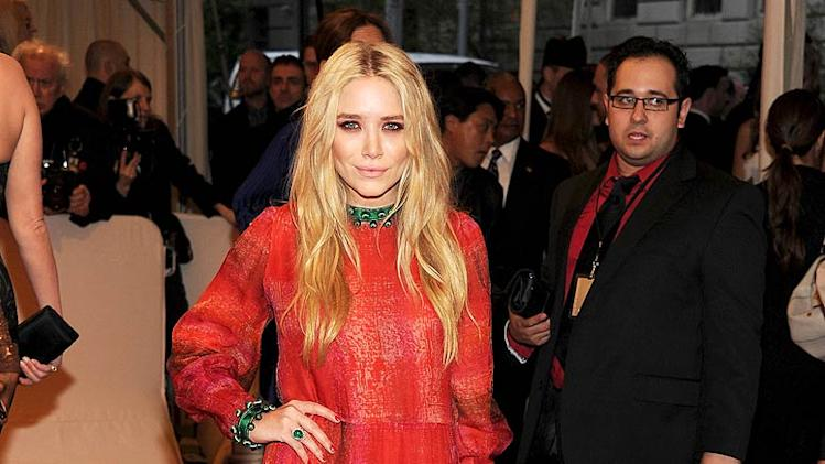 Mary Kate Olsen TheMET Gala