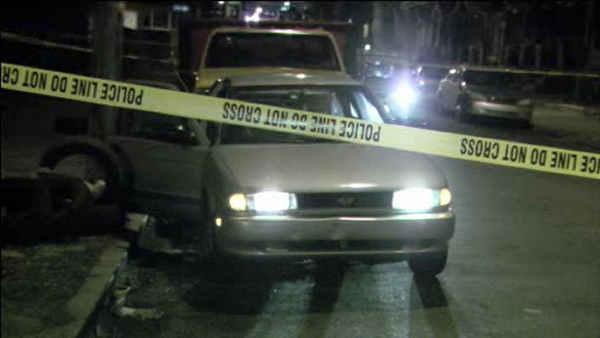Getting out of car, man shot in the head in Hunting Park